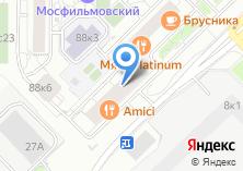 Компания «Мосфильмовский» на карте
