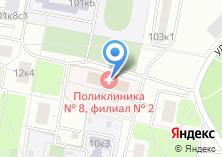 Компания «Городская поликлиника №124» на карте