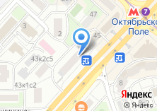 Компания «Красная икра» на карте