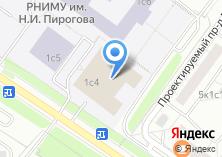 Компания «РНИМУ» на карте