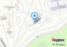 Компания «Мировые судьи района Теплый Стан» на карте