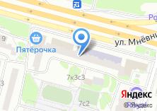 Компания «ОПОП Северо-Западного административного округа район Хорошёво-Мнёвники» на карте