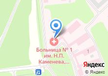Компания «Тульская городская психиатрическая больница №2» на карте