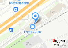 Компания «ФК Моторс» на карте