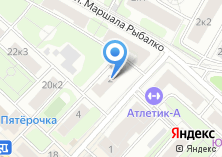 Компания «Инженерная служба района Щукино» на карте
