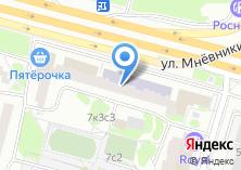 Компания «Салон штор на мневниках» на карте