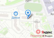 Компания «Строящийся жилой дом по ул. Гавриково-1 1-я (Московская обл)» на карте