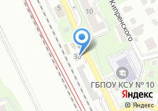 Компания «Автокомплекс на ул. Панфилова» на карте