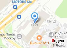 Компания «Драйвпрокат» на карте