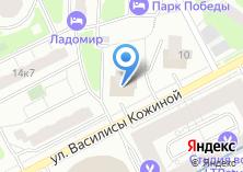 Компания «Мираторг» на карте