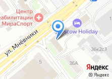 Компания «Технопроект-99» на карте