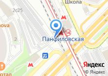 Компания «Автостоянка на ул. Маршала Рыбалко» на карте