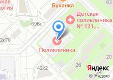 Компания «Городская поликлиника №118» на карте