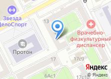 Компания «Управа района Филёвский парк» на карте