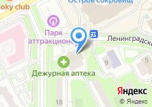 Компания «Дежурная аптека» на карте