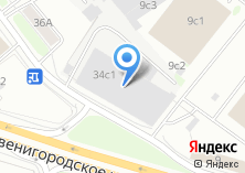 Компания «МВ-сервис» на карте