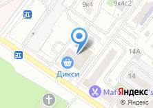 Компания «Море Суши» на карте