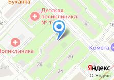 Компания «Участковый пункт полиции район Проспект Вернадского» на карте