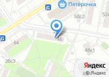 Компания «Синегория» на карте