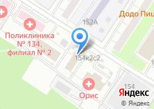 Компания «Муниципалитет внутригородского муниципального образования Теплый Стан» на карте