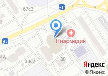 Компания «Фармлайн» на карте