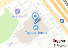Компания «Тойота Центр Ясенево» на карте
