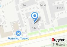 Компания «Делап» на карте