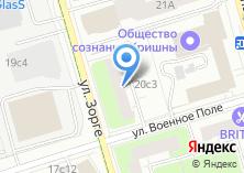 Компания «АФМ-Серверс» на карте