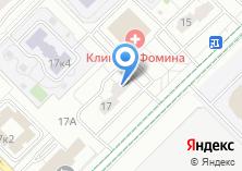 Компания «4meb.ru» на карте