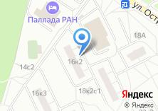 Компания «Черноморец» на карте