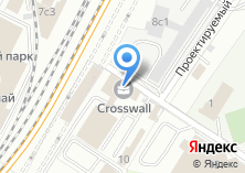 Компания «Crosswall» на карте