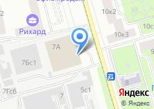 Компания «Профшинсервис» на карте