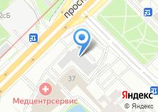 Компания «Автомойка на проспекте Вернадского» на карте