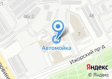 Компания «Автомойка на Ижорском проезде» на карте
