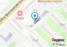 Компания «Российское агентство поддержки малого и среднего бизнеса» на карте