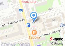 Компания «Флинт» на карте