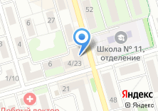 Компания «РЖСЦ» на карте