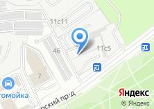 Компания «ТЕХМСК» на карте