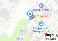 Компания «Московская служба ритуальных услуг» на карте