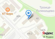 Компания «Новамет» на карте