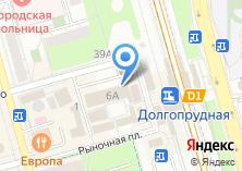 Компания «МСПК» на карте