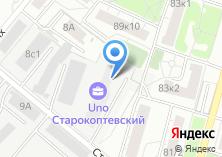 Компания «На Старокоптевском» на карте