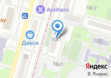 Компания «АРТ СИТИ МОСКВА» на карте