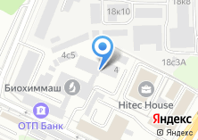 Компания «ИНТЕР-ФЛЕКС» на карте