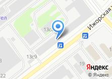 Компания «Трезвый водитель» на карте