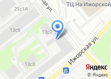 Компания «ШАНС» на карте