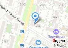 Компания «ОПОП Северного административного округа район Коптево» на карте