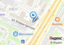 Компания «Меткомбанк» на карте