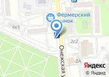 Компания «Магазин фастфудной продукции на Онежской» на карте