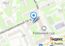Компания «МВС» на карте